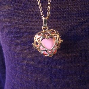 Jewelry - Pink & gold Heart Harmony Ball, Bola, Angel caller